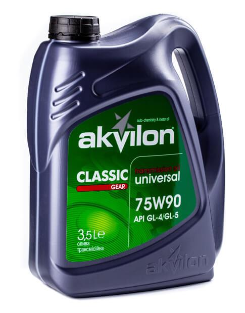 трансмиссионное масло Akvilon 75 W90