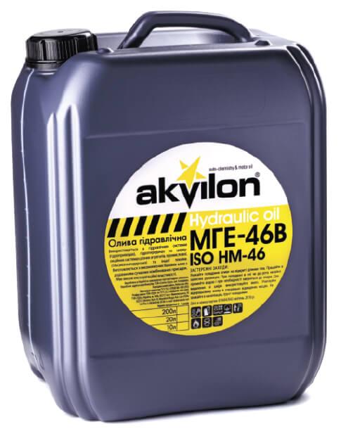 гидравлическое масло Akvilon ПРОТЕК МГЕ-46В