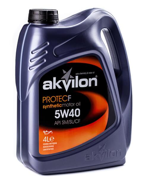 масло моторное Akvilon 5W-40