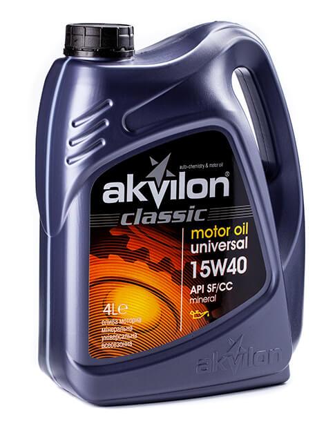 масло моторное Akvilon Classic 15W-40