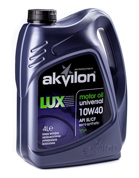 масло моторное Akvilon LUX 10W-40